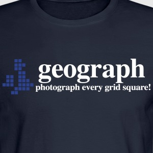Geograph Britain and Ireland - Men's Long Sleeve T-Shirt