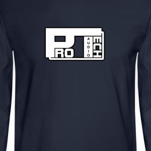 pro tech audio - Men's Long Sleeve T-Shirt