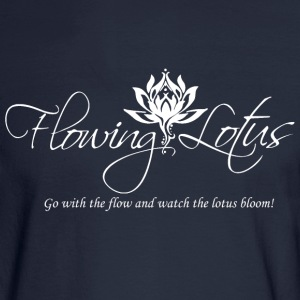 go with the flow - Men's Long Sleeve T-Shirt
