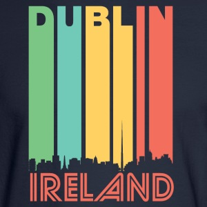 Retro Dublin Skyline - Men's Long Sleeve T-Shirt