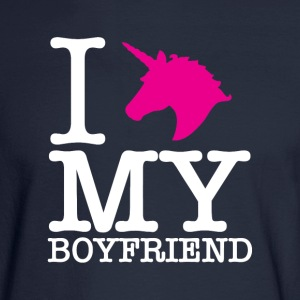 I Unicorn my boyfriend. - Men's Long Sleeve T-Shirt