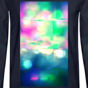 Glitchy Photography - Men's Long Sleeve T-Shirt