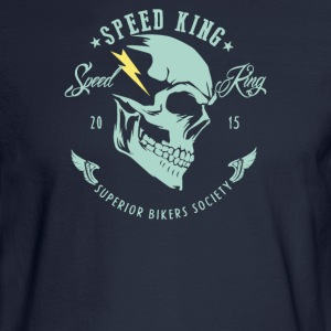 Speed king superior bikers - Men's Long Sleeve T-Shirt