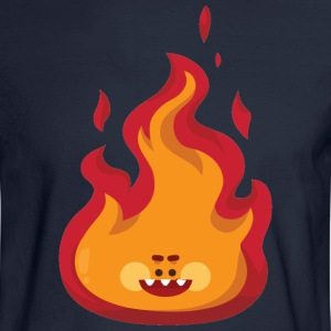 smile flame - Men's Long Sleeve T-Shirt