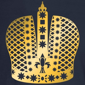 ornate-king-vip-crown-gold-golden-crown-royal-boss - Men's Long Sleeve T-Shirt