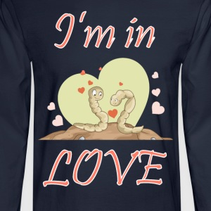 I am in love - Men's Long Sleeve T-Shirt