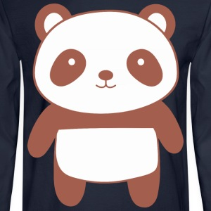 Cute and Kawaii Panda Bear - Men's Long Sleeve T-Shirt