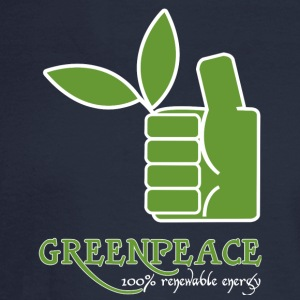 Greenpeace 100 renewable energy - Men's Long Sleeve T-Shirt
