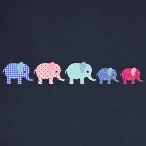 Elephant Familiy - Men's Long Sleeve T-Shirt