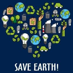 Save earth!