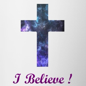 I Believe - Contrast Coffee Mug