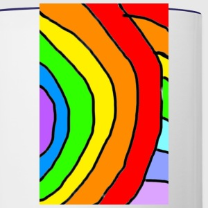 rainbow - Contrast Coffee Mug
