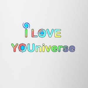 I LOVE YOU UNIVERSE ii - Contrast Coffee Mug
