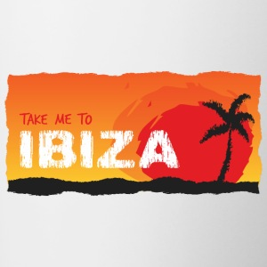 Take Me To Ibiza - Contrast Coffee Mug