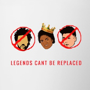 Legends Cant Be Replaced Tee - Contrast Coffee Mug