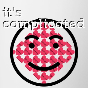 It's Complicated - Contrast Coffee Mug