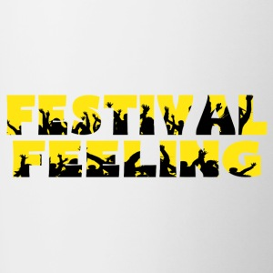 FESTIVAL FEELING - Contrast Coffee Mug