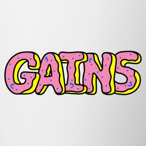 Donut Gains - Contrast Coffee Mug