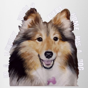 Shetland Sheepdog In Every Home - Contrast Coffee Mug
