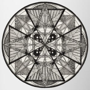 Mandala The Power of potency - Contrast Coffee Mug