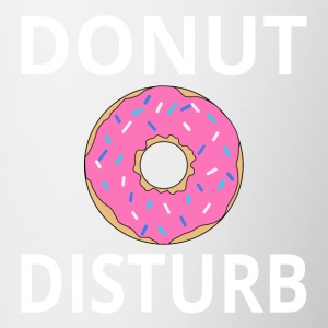 Donut Disturb - Contrast Coffee Mug