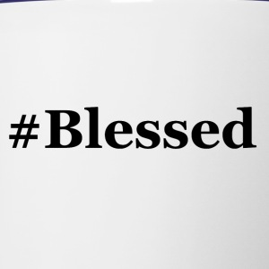 #Blessed - Contrast Coffee Mug