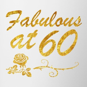 Fabulous at 60 years - Contrast Coffee Mug