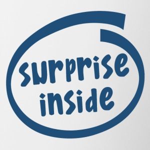 surprise inside (1824C) - Contrast Coffee Mug