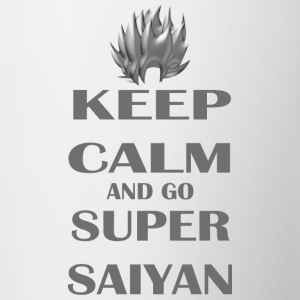Keep Calm and go Super Saiyan - Contrast Coffee Mug