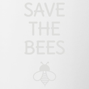 Save The Bees - Contrast Coffee Mug