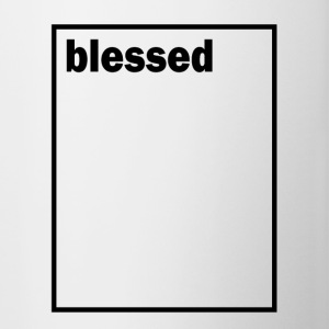 Blessed - Contrast Coffee Mug