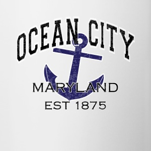Ocean City Maryland Est 1875 - Contrast Coffee Mug