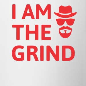 Grind Square - I AM The Grind Red - Contrast Coffee Mug