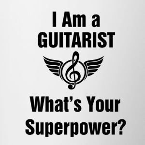 I am a Guitarist - What's your superpower? - Contrast Coffee Mug