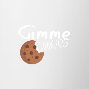 Gimme Cookies - Contrast Coffee Mug