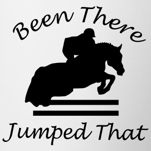 Been There, Jumped That - Contrast Coffee Mug