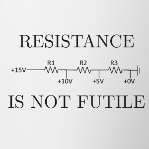 Resistance is not Futile - Contrast Coffee Mug