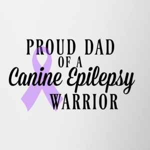 Proud Dad of a Canine Epilepsy Warrior - Contrast Coffee Mug