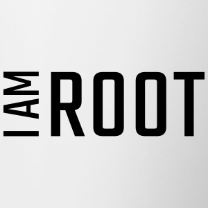 I am ROOT - Contrast Coffee Mug