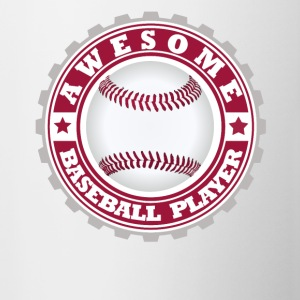 Awesome Baseball player - Contrast Coffee Mug