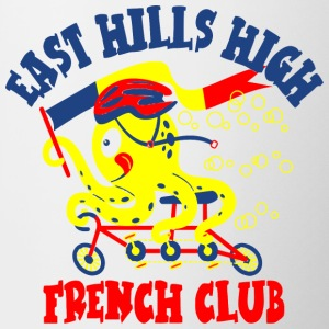 East Hills High French Club - Contrast Coffee Mug