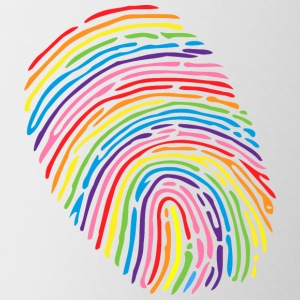 Pride Fingerprint - Contrast Coffee Mug
