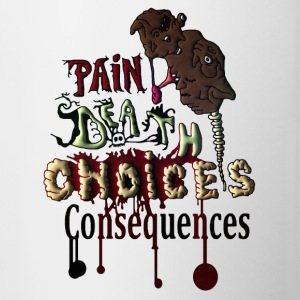 Consequences - Contrast Coffee Mug