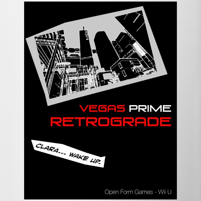 Vegas Prime Retrograde - Clara Wake Up - Black