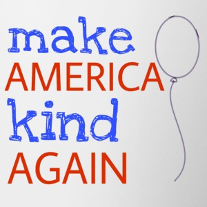 Make America Kind Again - Contrast Coffee Mug