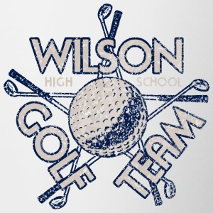 Wilson High School Golf Team - Contrast Coffee Mug