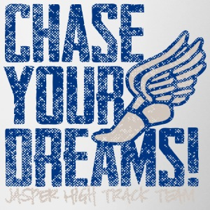 Chase Your Dreams Jasper High Track Team - Contrast Coffee Mug