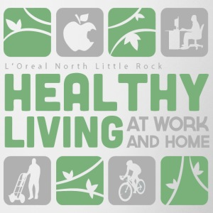 Healthy Living At Work And Home - Contrast Coffee Mug