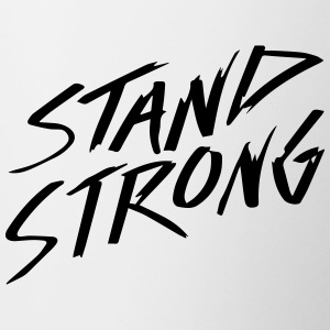 STAND STRONG - Contrast Coffee Mug
