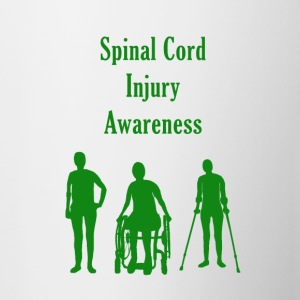 Spinal Cord Injury Awareness - Green - Contrast Coffee Mug